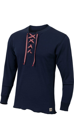 Aclima M's WarmWool Shirt with Cord Peacoat